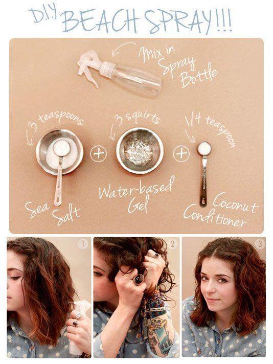 Salt Spray for Hair Beach hair--Take a trip to the beach!   & Facebook: Florida Beach BumsOn the Beach  On the Beach may refer to: