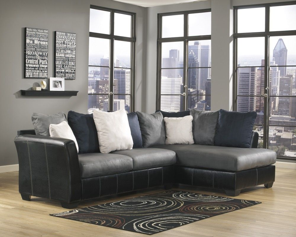 jayceon 3piece sectional with chaise by signature design by ashley sofas living room pinterest living room ideas living rooms and room ideas