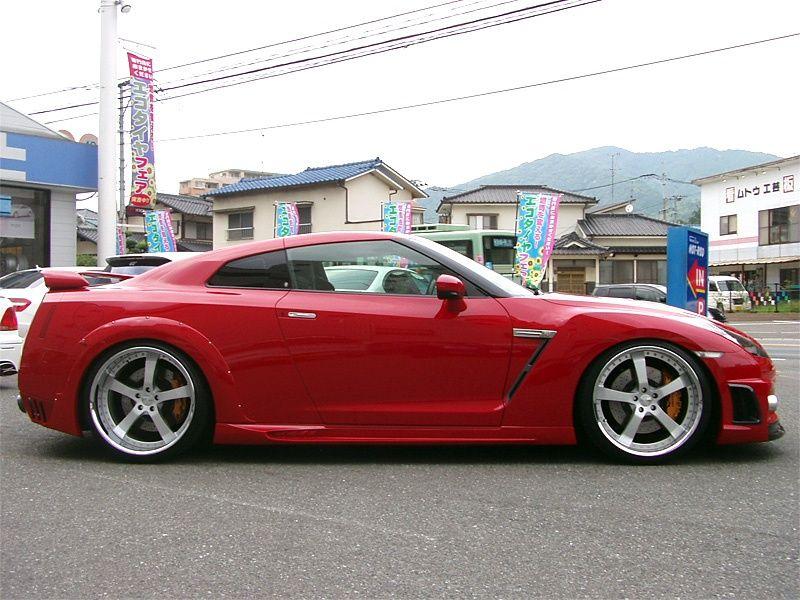 1000 Horsepower Nissan GTR by Wald  sport cars  Pinterest