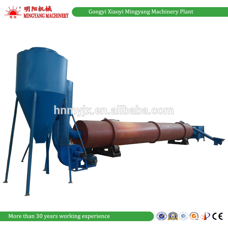 Ce And Iso Trade Assurance Rotary Drum Gas Flow Wood Sawdust Dryer Machine 008613838391770