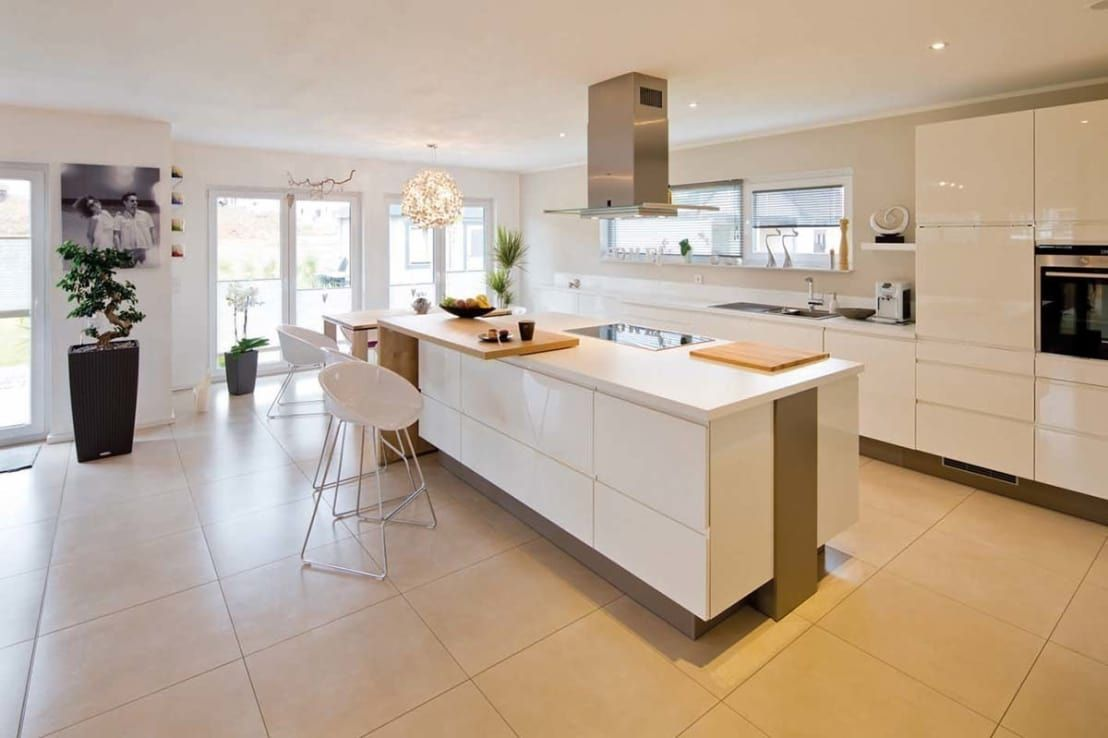 Idee per progettare una cucina moderna con isola cucina