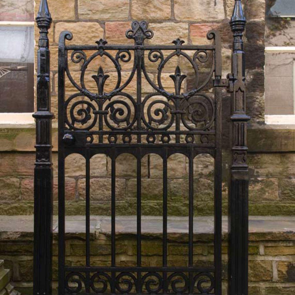 Image of: ideas wrought iron garden gates | Classic gate | Pinterest ...