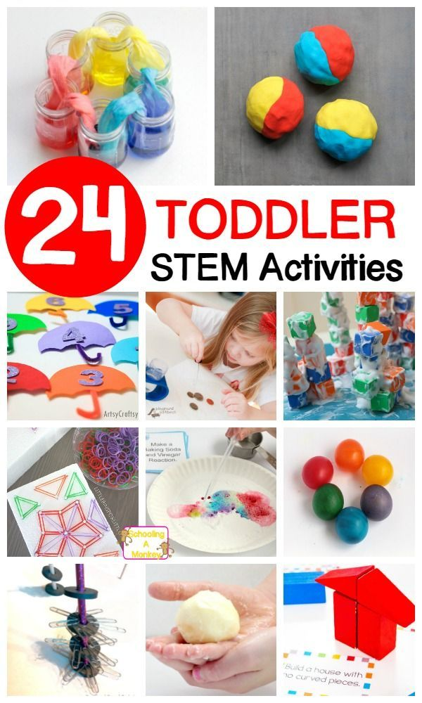 Simple STEM Activities for Toddlers | Stem activities ...
