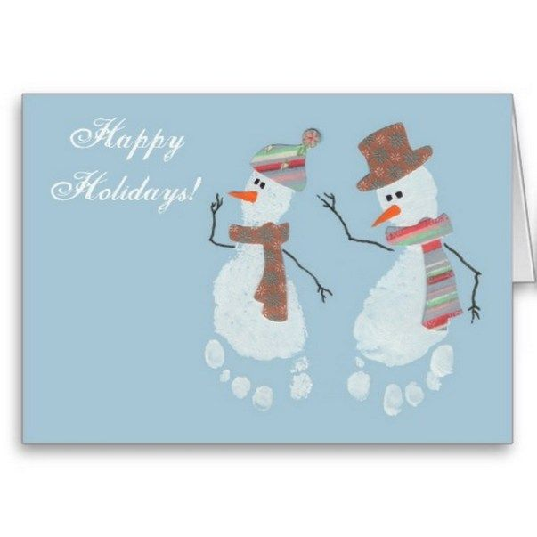 21 Cute And Fun Christmas Handprint And Footprint Crafts