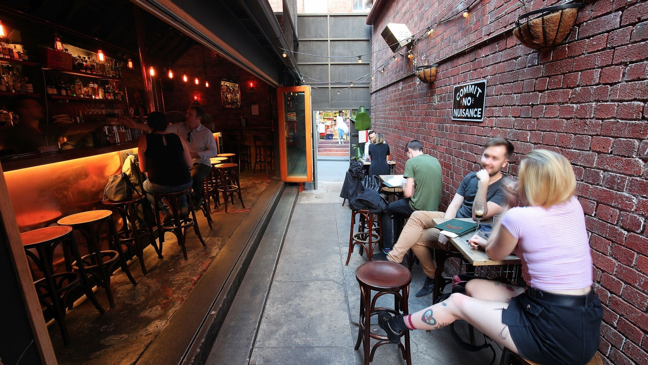 The best laneway bars in Melbourne | Beer house, Cool bars ...