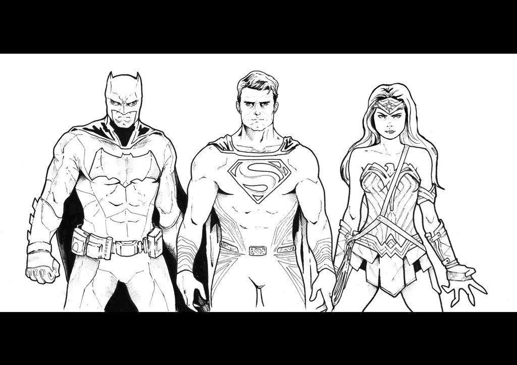 Batman V Superman Dawn Of Justice Sketch By Nezotholem On