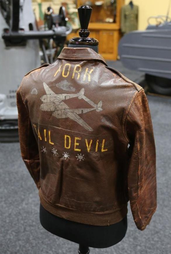 c9aa1771af WWII A2 Flight Jacket