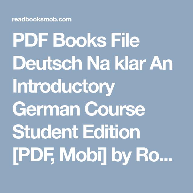 Ebook Mobi Deutsch