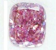 1.01ct Fancy Pink Purple #Diamond Like Intense