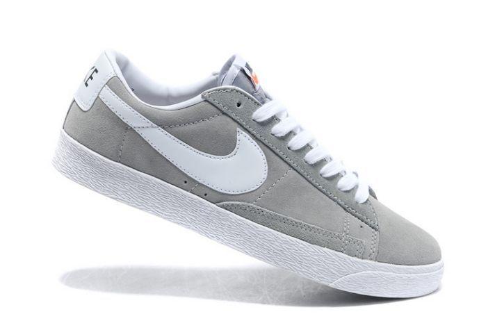 Shoes men  nike blazer low grey  Google Search