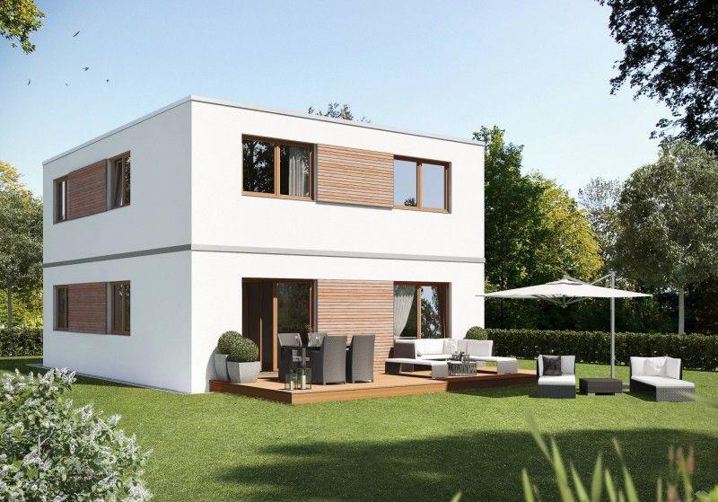 smarthouse Fertighaus Modulbauweise Architektur Kubus