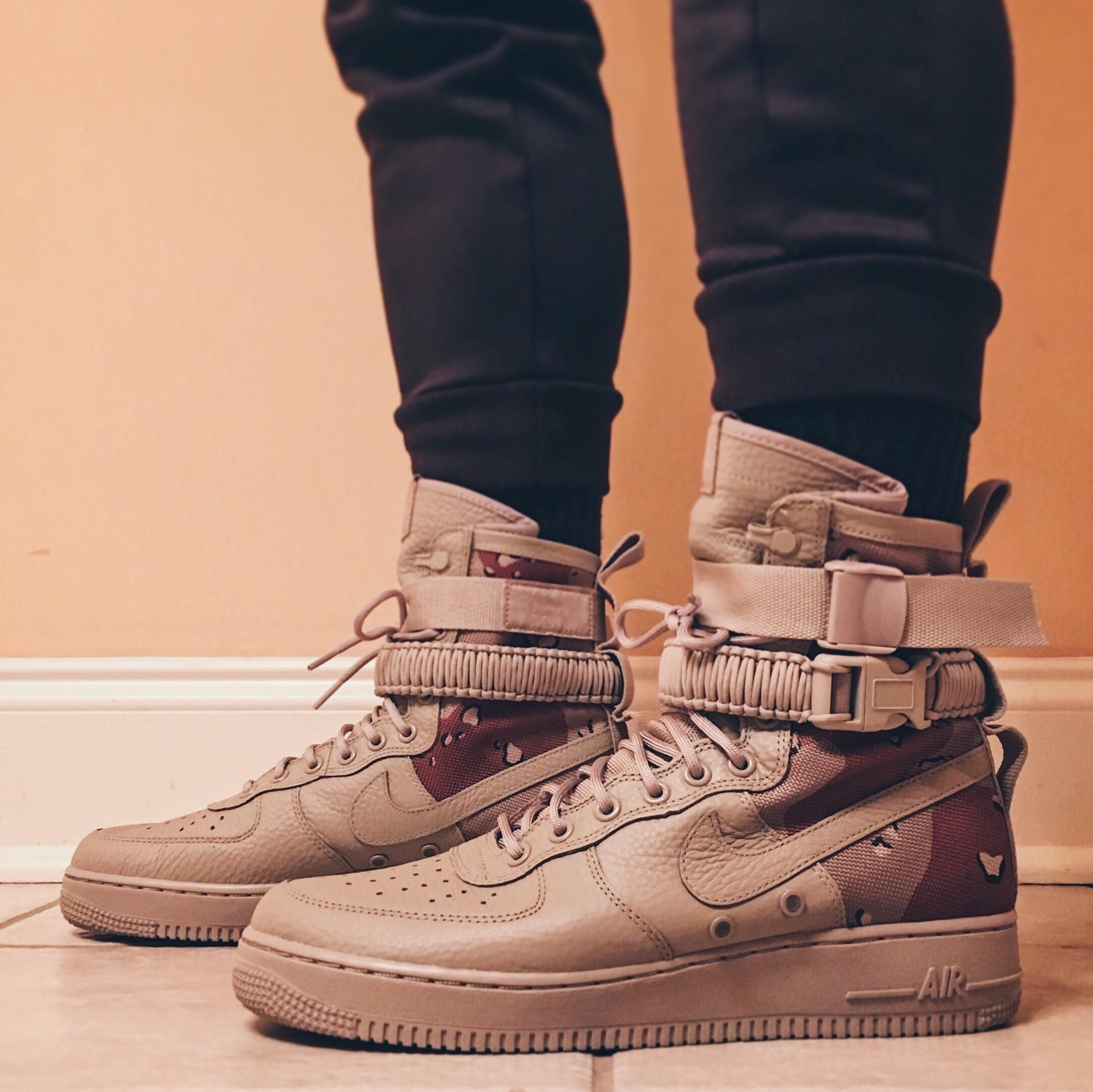 66508d2130 PICKUP] Stomping in my first pair of Special Field Air Force 1s ...