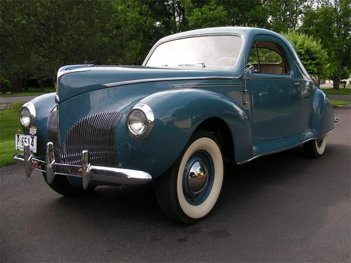 1940 Lincoln Zephyr Business Coupe For Sale Classiccars Com Cc