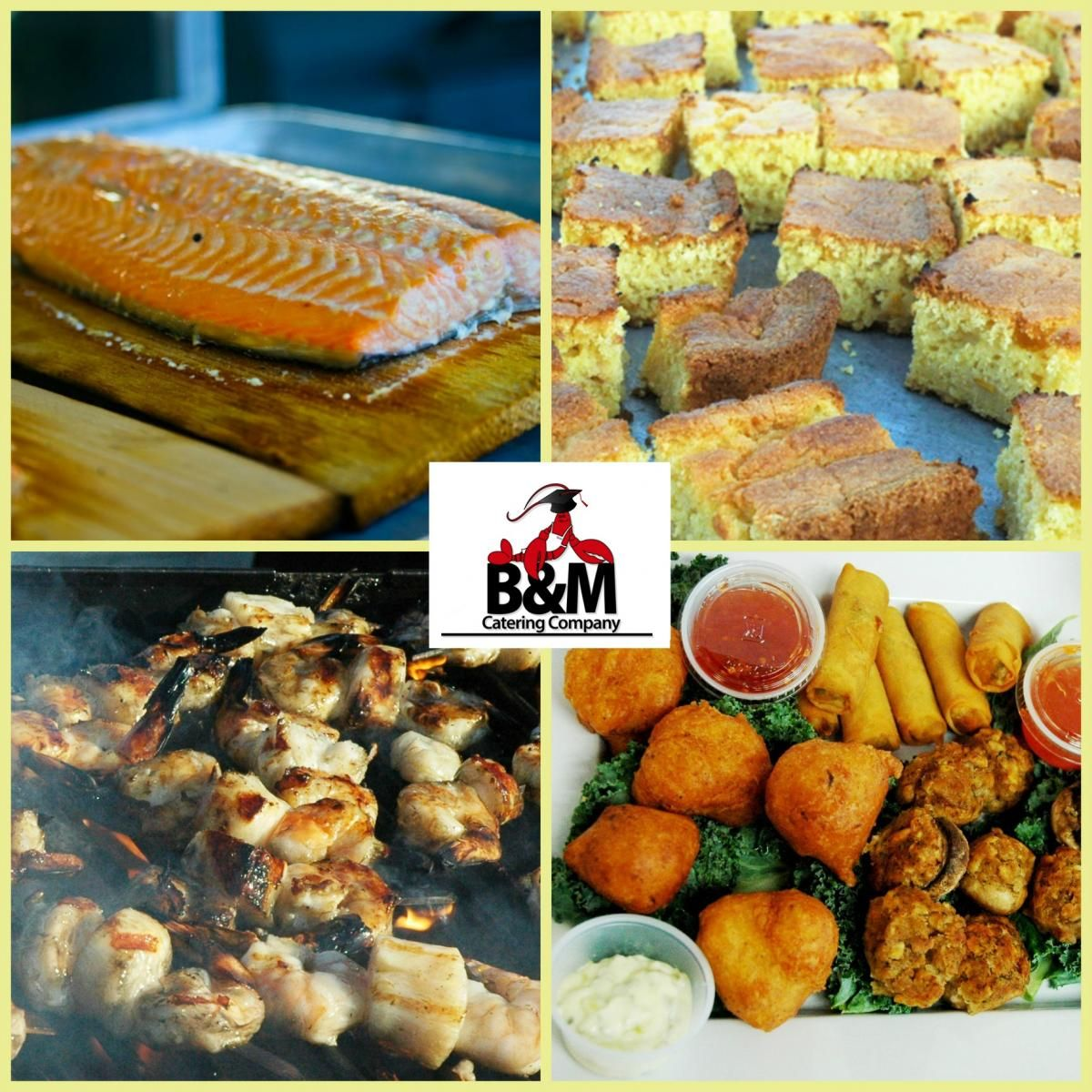 graduation catering food B&M Catering Full Service and