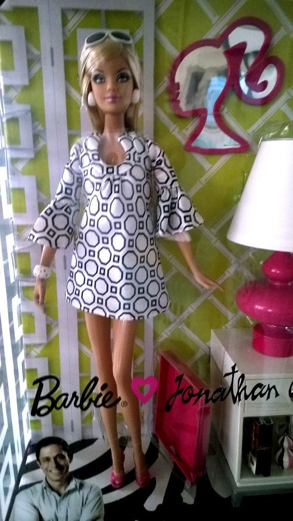 Mod Barbie Adler Interior Designer Barbie By Treasuresincarlsbad