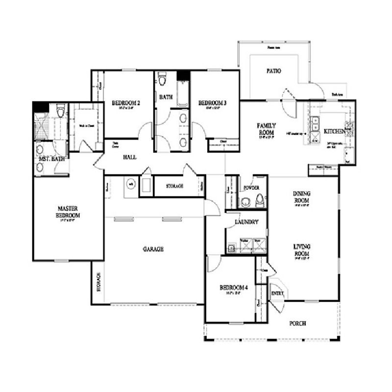 W2d1hd25 Floor Plans Military Housing Lincoln Military Housing
