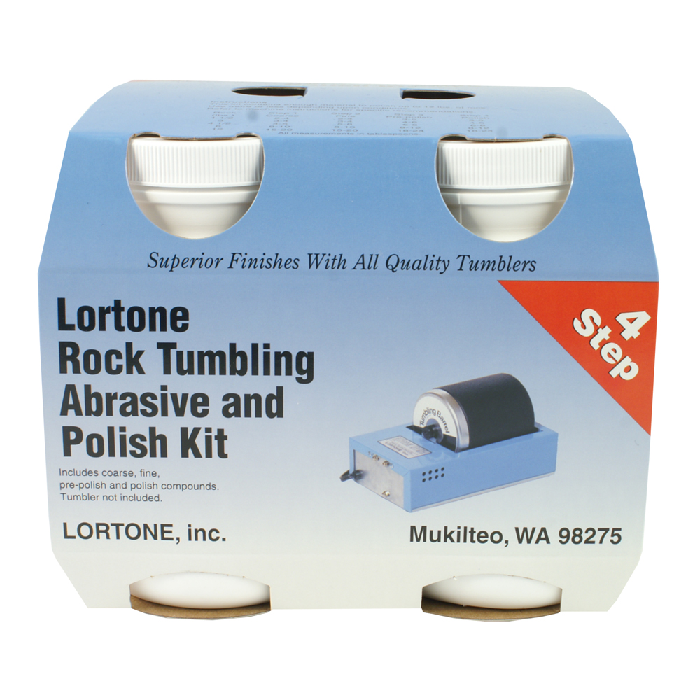 Lortone Polishing Compound 4 Step Kit in 2020 Polishing