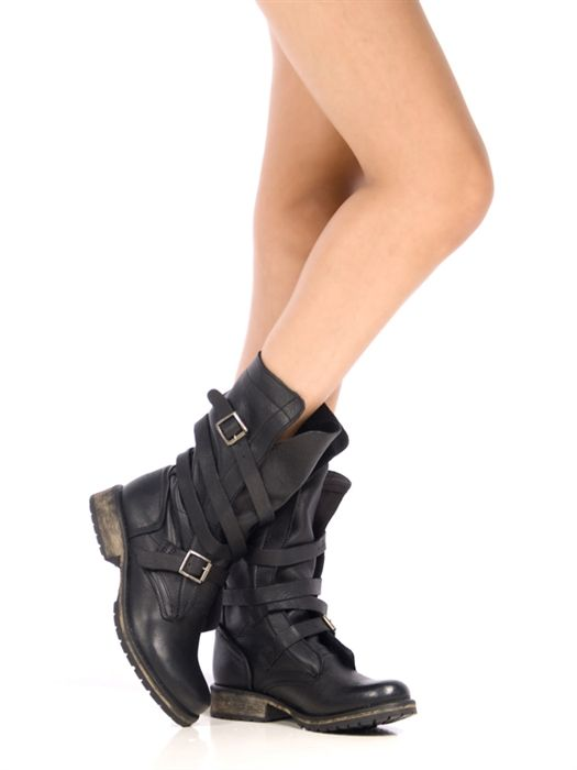 Steve Madden Banddit Boot Sz Black Steve Madden Moto Boot Sz Feel free to  ask any questions!