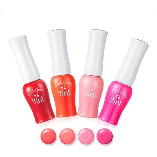 ETUDE HOUSE Fresh Cherry Tint - RD301 Cherry Red + OR201 Cherry Peach