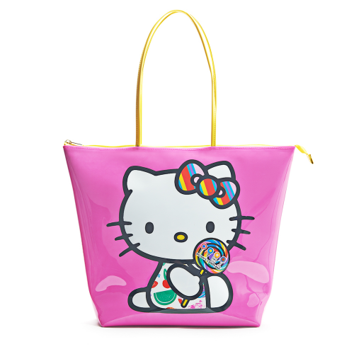 Dylan S Candy Bar O Kitty Tote Pink