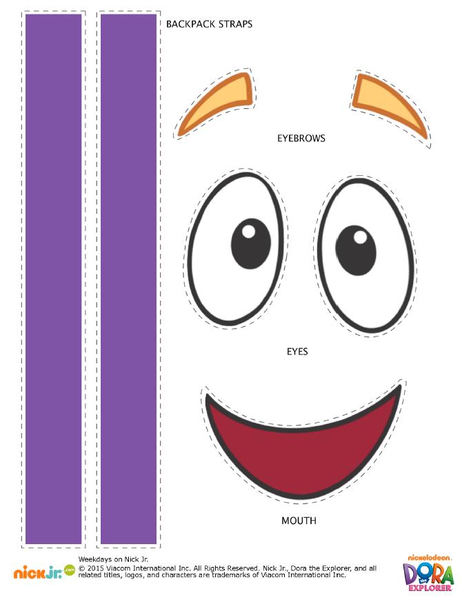 Backpack Goodie Bags Http Www Nickelodeonparents Com Backpack Goody Bags Birthday Favors Kids Dora The Explorer Dora Backpack