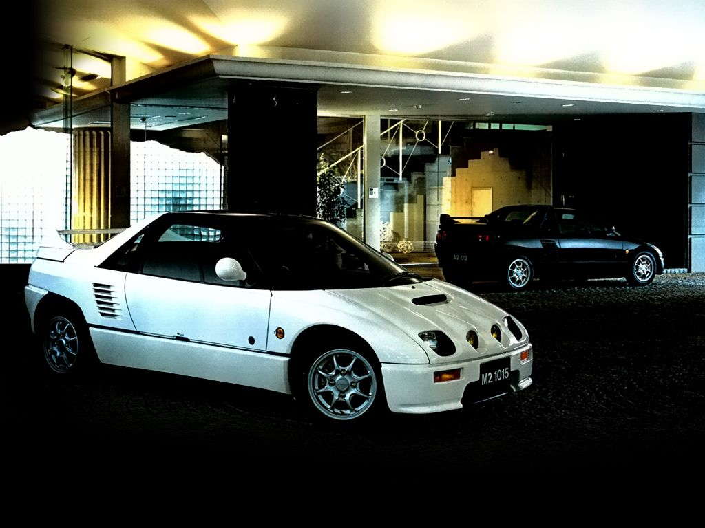 Случайное авто дня! Autozam AZ-1 M2-1015 (PG6SA), май 1994 – сентябрь 1995 гг.
