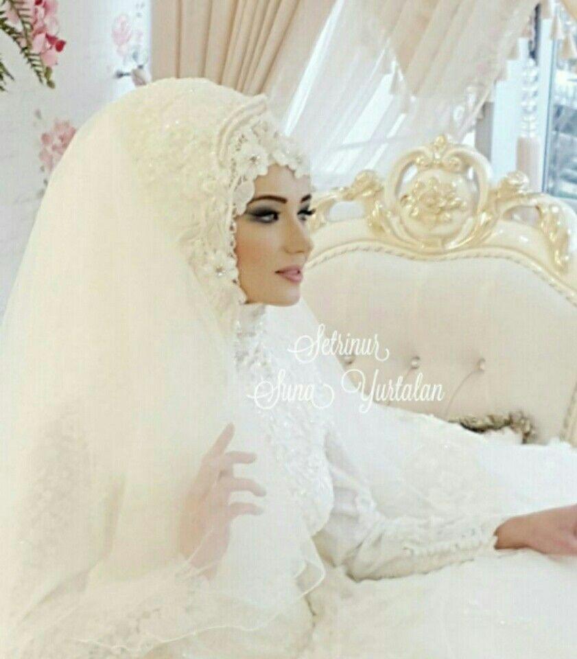 Pin von dinda triastuti auf hijab | Pinterest | Hochzeitskleid mit ...