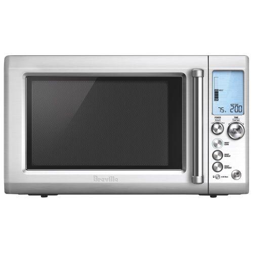 Breville Countertop Microwave 1 2 Cu Ft Die Cast Metal