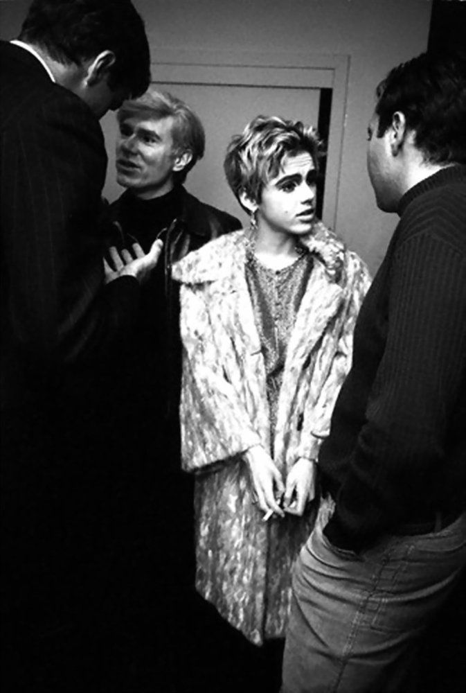 Edie Sedgwick Andy Warhol She Looks To Be Under Distress