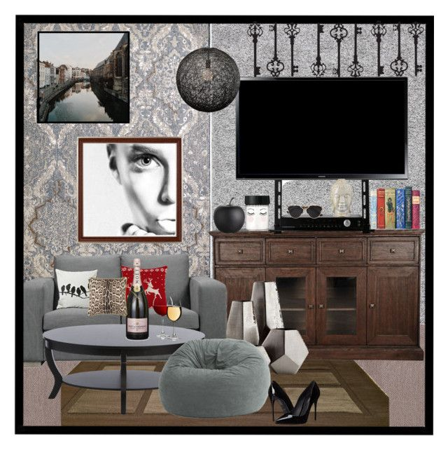 room by sali sali liked on polyvore featuring interior interiors - Cyan Home Interior