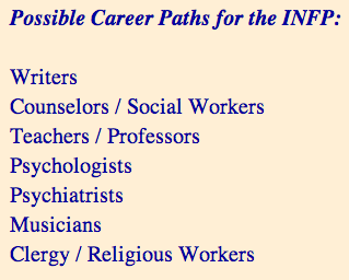 Deenise Glitz: I Have An INFP Personality Type , So What's yours?