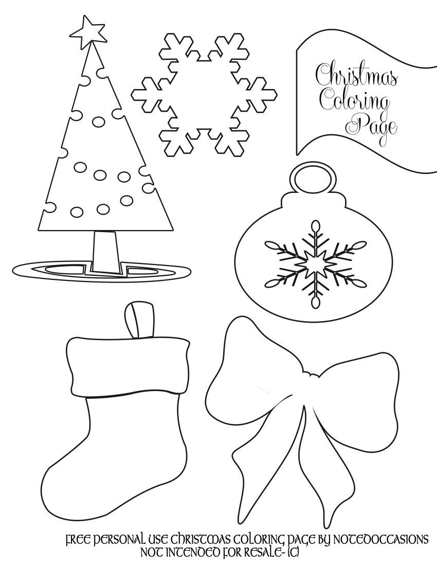 holiday coloring pages for toddlers