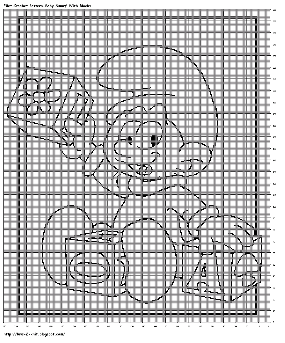 Free smurf crochet patterns luvs 2 knit baby smurf filet free smurf crochet patterns luvs 2 knit baby smurf filet crochet charts bankloansurffo Image collections