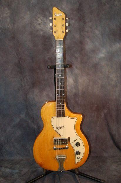 Vintage RARE Supro Belmont Valco Pickup Original Case 1960's Natural Refinished   Reverb.com..Give us a call. Lawman Guitars..515-864-6136