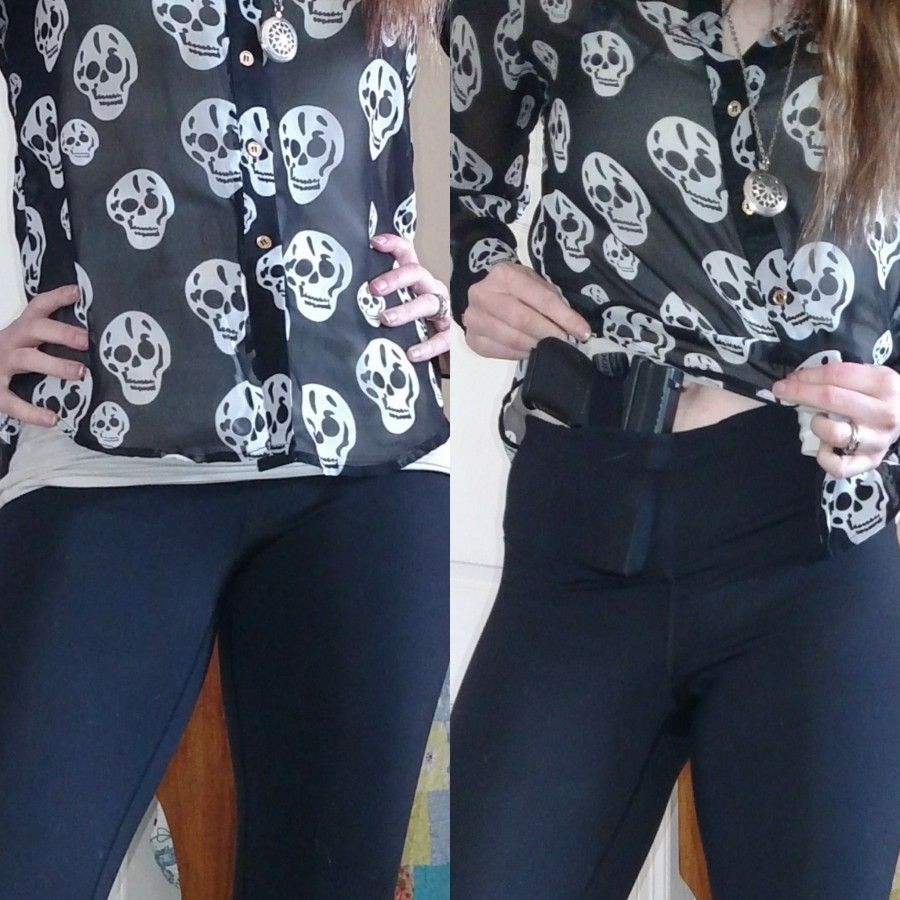 Gear review undertech undercover concealed carry leggings