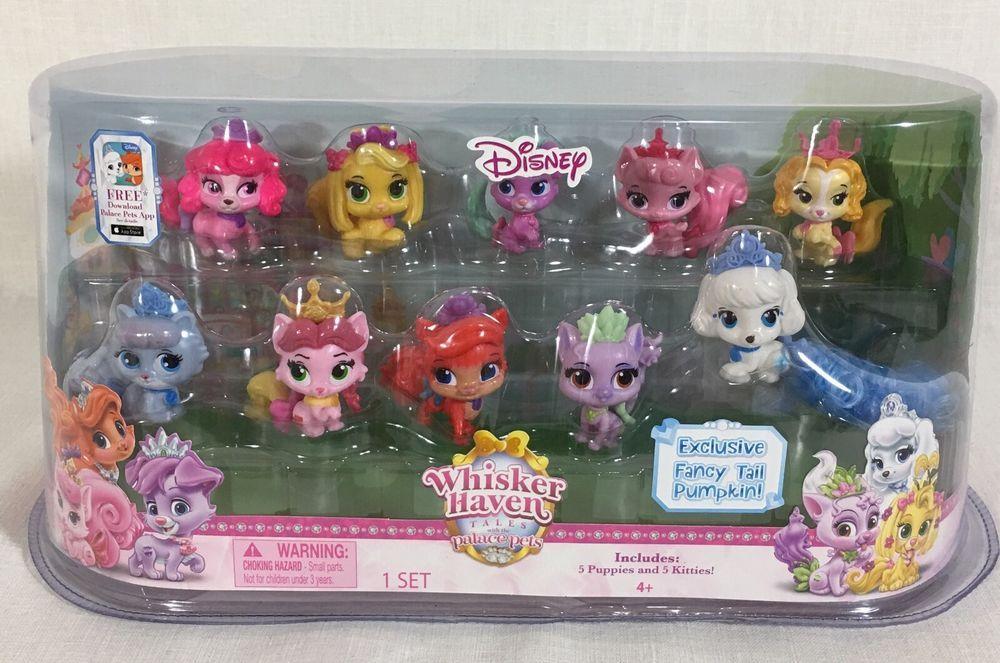 Disney Princess Palace Pets Whisker Haven Tales Figure Gift Set 10