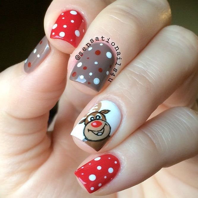 popular ideas of christmas nails designs to try in 2017 see more https