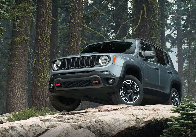 Fascinating 2017 Jeep Renegade Fantastic Total & Deep