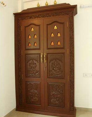 pooja room designs for home - Google Search | Room door ...