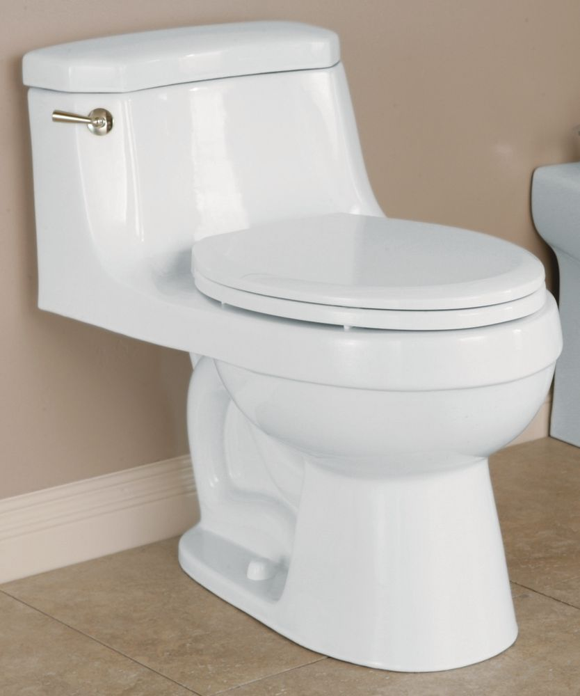 The Palermo 1 Piece Toilet Elongated Bowl Shape In Balsa