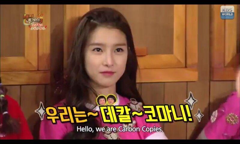 She's really beautiful.. #kimseoun #kbsworld #happytogether