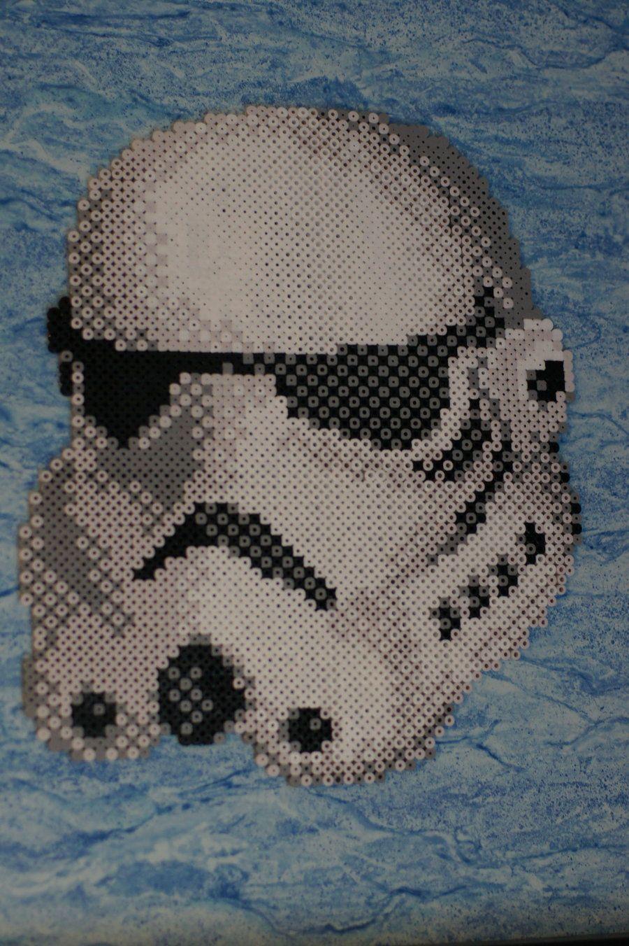 I Beads Ikuzza Star Wars Stormtrooper By Ikuzza