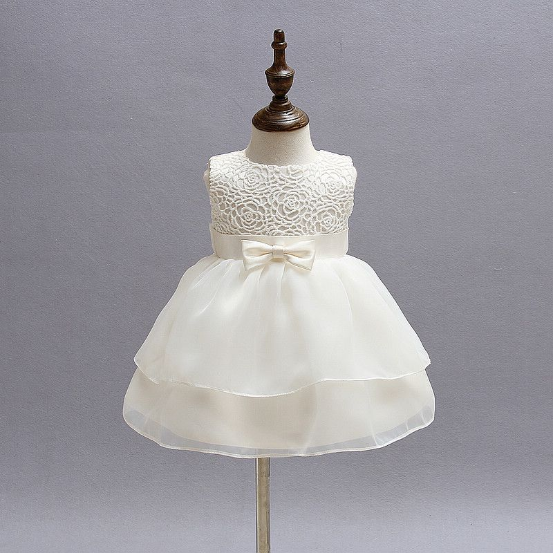092d9b6df Summer Infant Party Dress Girl Newborn Bebes Baptism Clothes 1st ...