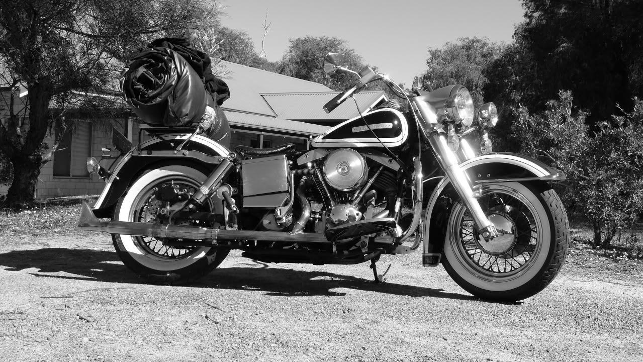 Harley Fld Switchback Backdated To Fl Duo Glide Harley Harley