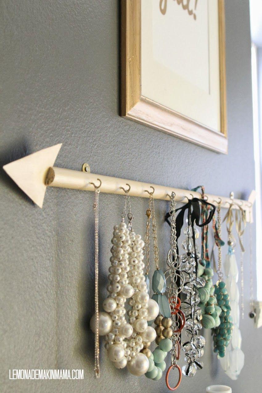 Lemonade Makin' Mama: The arrow jewelry holder DIY.   DIY ...