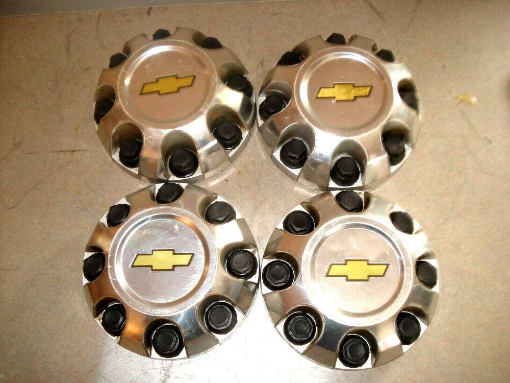 Advertisement Ebay Set 4 Center Caps Hubcaps Oem 07 10 Chevy Silverado 2500 3500 Gm 9596342 Wheel Chevy Silverado 2500 Chevy Silverado Silverado 2500