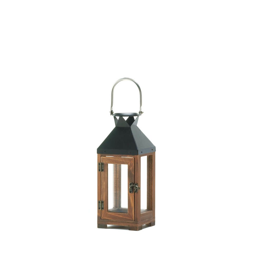 Wholesale Hartford Small Candle Lantern Candle Lanterns Small Candle Holders Wooden Lanterns