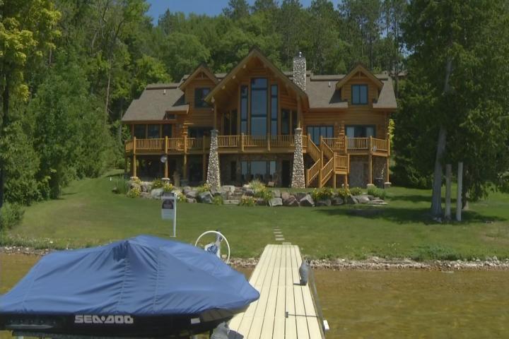 Amazing Northern Michigan Homes: Custom Mullett Lake Home - Northern Michigan's News Leader