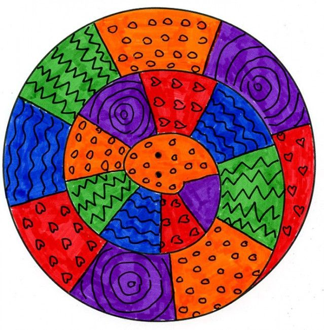 spiral snake pattern - Color Patterns For Kids