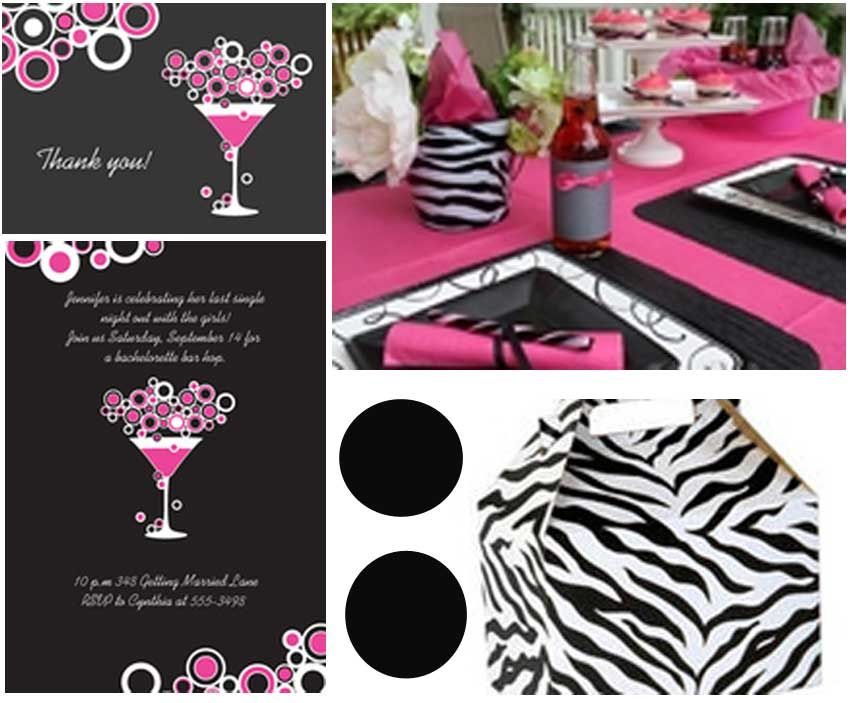 Pink Zebra Party Babyshower Pinterest Pink zebra party Zebra